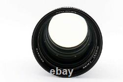 CONTAX Carl Zeiss Planar 85mm F/1.4 T AEG for CY mount Excellent From Japan