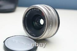 CONTAX G1 film camera with Carl Zeiss Biogon T 28mm f/2.8 lens