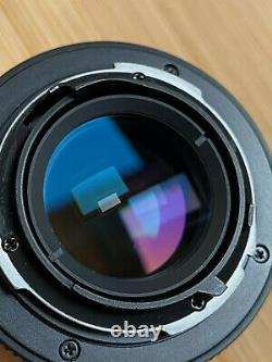 Carl Zeiss 50mm f/1.7 Planar Lens for Contax / Yashica with EF Adapter