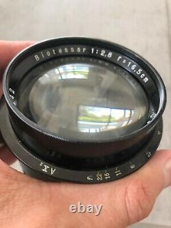 Carl Zeiss BIOTESSAR 165mm f2.8 LARGE FORMAT