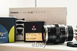 Carl Zeiss Distagon T 35MM f1.4 ZM (for Leica M) with maker's box (Mint)