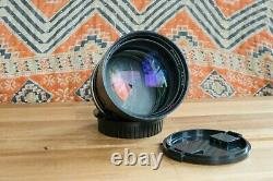 Carl Zeiss HFT Planar f/1.4 85mm lens 3 Triangle Blades Rollei QBM to Canon EOS