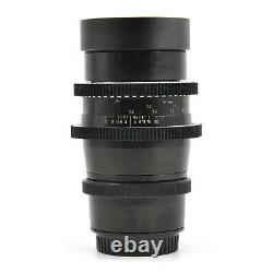 Carl Zeiss Jena Biometar 120mm F2.8 Cine Movie Lens For Canon EF Mount