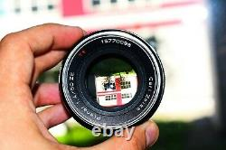 Carl Zeiss Planar 50mm f/1.4 ZE RED T Japan lens for Canon EF mount