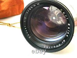 Carl Zeiss Sonnar 2/85 F 2 85 mm 12 85mm Contax RF made in Westgermany