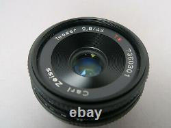Carl Zeiss Tessar T45 mm 12,8 baj. Contax /Yashica Lens Made in Japan