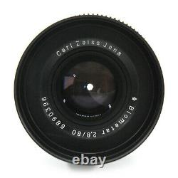 Cinema Style Carl Zeiss Jena Biometar 80mm F2.8 Lens For Canon EF Mount