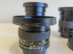 Cinematic Contax Carl Zeiss F1.4 Prime Lens Kit