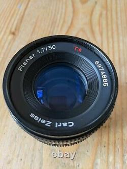 Contax Carl Zeiss 50mm f1.7 T lens (Exc)