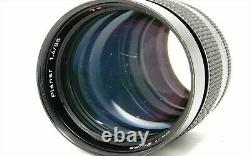 Contax Carl Zeiss Planar T 85mm f/1.4 MF Lens AEG C/Y Mount from Japan Exc