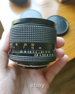 Contax Carl Zeiss Sonnar T 85mm F2.8 MMG with Sony Adapter (Bundle)