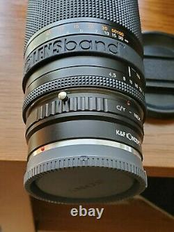 Contax Carl Zeiss Vario-Sonnar 100-300mm f4.5-5.6 MF Lens Bundle & Sony Adapter