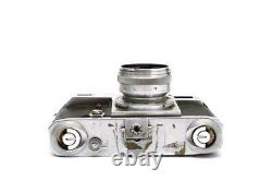 Contax III Film Rangefinder Camera with Carl Zeiss 5cm f1.5 Sonnar Lens 26054