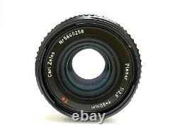 EXC+5 withHOOD Hasselblad Carl Zeiss Planar C 80mm f2.8 T BLACK Lens from JAPAN
