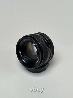 Excellent CONTAX Carl Zeiss Planar T 50mm f/1.4 Contax/Yashica Mount Lens