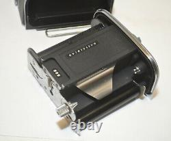 Hasselblad 500C/M with Carl Zeiss Planar 80mm F/2.8 Lens A12 Film Back NEAR MINT