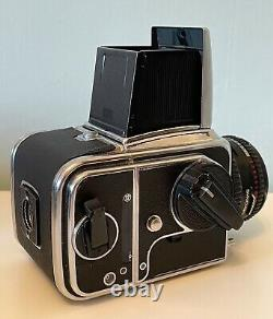 Hasselblad 500cm Camera with 80mm Carl Zeiss T Lens and 120 Film Back