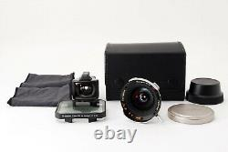 Near Mint Contax Carl Zeiss G Hologon T 16mm f/8 + Viewfinder For G1 G2