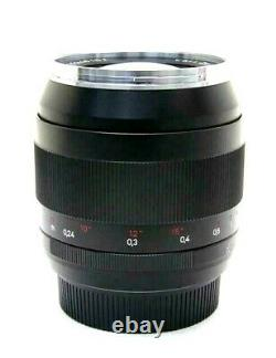 New Carl Zeiss DISTAGON T 28mm F2 ZE Lens CANON EF Made in Japan