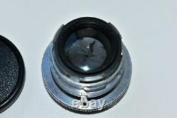 RARE CARL ZEISS JENA SONNAR 12 f=5cm Rangefinder lens for Contax I, II, III EXC