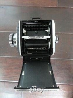 ROLLEI ROLLEIFLEX SL66 With CARL ZEISS PLANAR 80MM F2.8 LENS AND ACCESSORIES