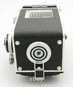 Rolleiflex 3.5 E with Carl Zeiss 75mm F3.5 Planar Lens 120 TLR Camera