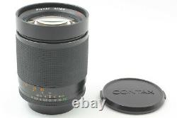 TOP MINT MMJ Contax Carl Zeiss Planar T 100mm F/2 Lens CY Mount From JAPAN