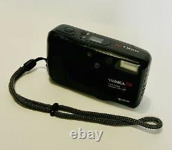 Yashica T4 Carl Zeiss Tessar Lens 35mm F3.5 Works Perfectly, Like Contax Nr